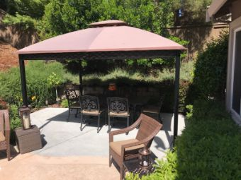 Yorba Linda cement patio installation