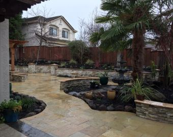 Yorba Linda concrete construction patio