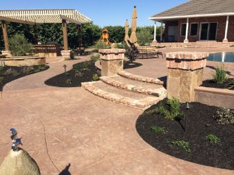 Yorba Linda concrete contractor and concrete patio