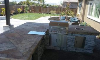 kitchenette outdoor countertops contractor