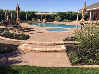 yorba linda pool deck masonry
