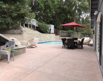 yorba linda pool deck recreation area