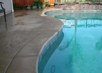 stamped concrete pool deck yorba linda